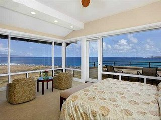 Kapalua Bay Villa Gold Direct Ocean Front!  Captivating Endless Views!