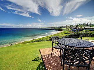 Kapalua Bay Villa Gold Stunning Beach Front!  Fall Special 7th night free!