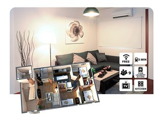 #100 Family Apartment Near Namba, Osaka
