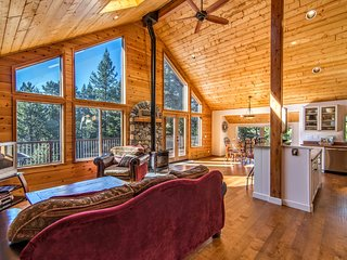 Beautiful, Ideal Truckee Tahoe Mountain Getaway