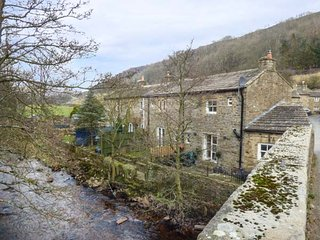 BRIG END stone-built character terraced cottage, romantic, woodburning stove, patio, in Langthwaite Ref 934742