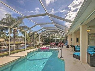 4BR Cape Coral House w/ Private Pool & Pier!