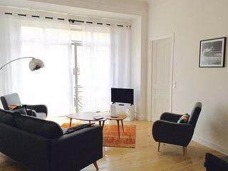 appartement spacieux dans Palace avec parking, Biarritz