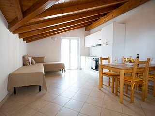 Lakeside attic apartment up to 4persons near the beach, Domaso