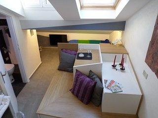 the cube apartment Brera