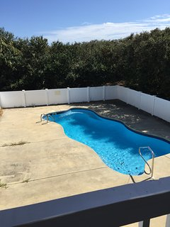 35 ft very private pool and spa