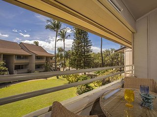 Kihei Bay Vista #D-209  is steps to the beach and has great rates!!