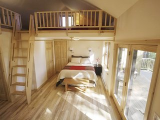Book your romantic winter getaway at Owl Moon Cottage!