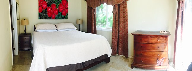 Bedroom 1. King size bed