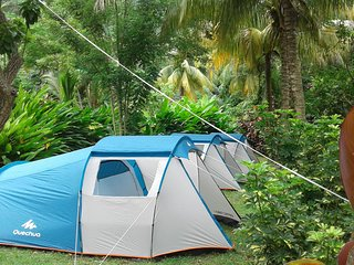 "Big Banana Campground ""CALYPSO "", Soufrière"