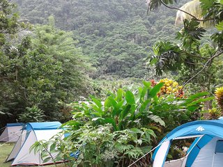 "Big banana campground "" BOUYON "", Soufriere"
