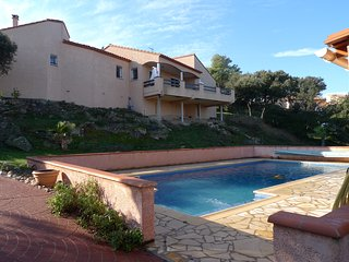 A must-stay,  beautiful villa with Panoramic views, Les Hauts de Ceret