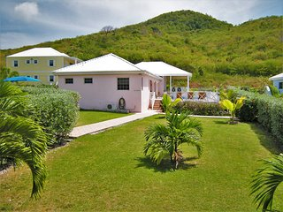 Tranquil location , yet only minutes walk from beaches & shops