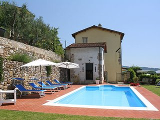 4 bedroom Villa in Camaiore, Tuscany, Italy : ref 5477715