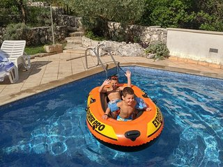 Holiday House with pool in Dubrovnik Area, Gruda