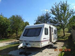 Tranquil Pines Sited Touring Caravan
