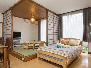 ★5mins to SHIBUYA with Japanese ZEN Style Room, Meguro