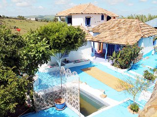 Habitación privada con baño completo en casa rural en montaña norte de Marruecos