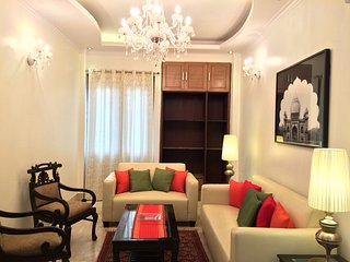 Evergreen 3 BHK Service Apartment Defence Colony