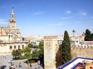 Atico vistas a la Catedral, Giralda y real Alcazar