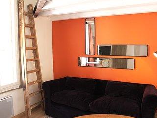 Studio cozy a 15 mn de la mer, plein centre ville