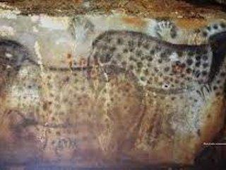 Il y a des peintures rupestres anazing et concrétions à la Grotte de Pech Merle