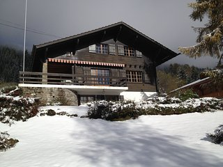 Swiss chalet on quiet place, Villars-sur-Ollon