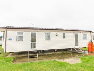 Ref 50070 6 berth static caravan  by the beach at California Cliffs in Norfolk.