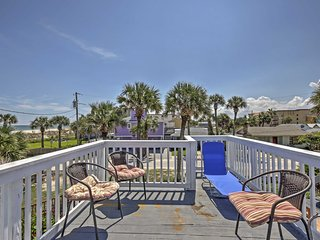 5BR St. Augustine Beach Cottage w/Ocean Views!