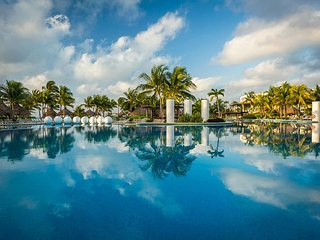One of Mayan Palace's pools