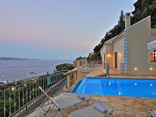 Luxury Villa Kalami Dream above Kalami Bay