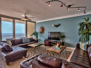 Holy Guacamole-Jaw Dropping Gulf Views! Luxury + Spacious, leather SONOS speaker