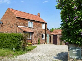 MARSTON GRANGE HOLIDAY COTTAGE, pet-friendly country cottage with woodburner