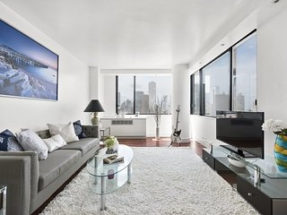 Furnished 3-Bedroom Condo at 8th Ave & W 50th St New York, Weehawken