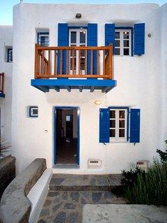 Mykonos Agios Stefanos Beachfront Home