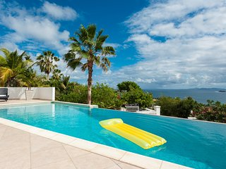 SUMMER TIME...located in the upscale, secluded and gated villa estate of, Philipsburg