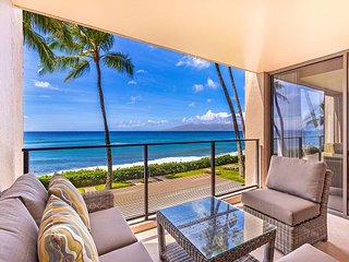 Newly Renovated Mahana Condo #214 1Bed/1Bath Direct Oceanfront in Kaanapali