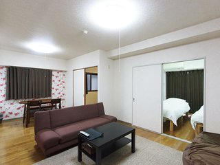 NEW!!  Spacious condo in Central KYOTO; FREE WiFi & 10 min walk to GION, Kyoto