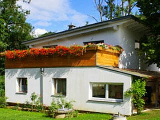 Dog-friendly, 3-bedroom house with a terrace and WiFi in Purgstall, Austria – 100km from Vienna