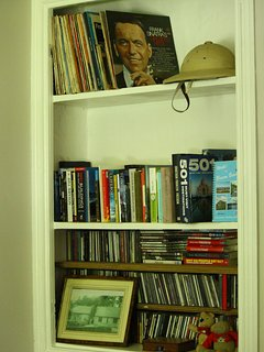 Plenty of books, DVD's and CD's