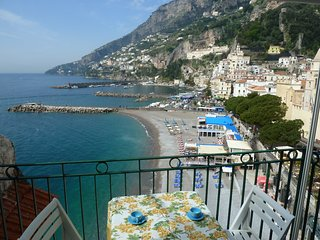 Arlecchina with sea view in Amalfi