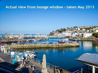 12 The Quay - Brixham - Spacious 2 bed apartment with stunning sea views, fantas