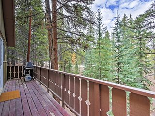 NEW! Secluded 2BR Alma Cabin w/ Alpine Views!