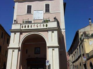 Loft nel centro storico in palazzo Campanari, Tuscania