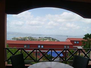 Appartement F3 duplex vue sur mer aux Trois Ilets/Anse Mitan, Trois-Ilets