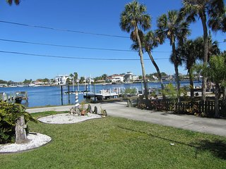Sun and warmth,  where the Gulf meets Cotee River, Port Richey