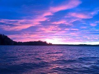 Ahvenkallio by the lake, fishing, kayaks, skiing, hiking, swimming, riding