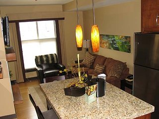 Modern and Chic 1 Bedroom Canmore Condo