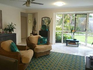 Comfy room or two in a large house close to beaches !!.
