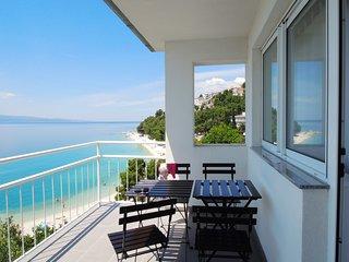 SunnySaltyBreasy|Apartment Kobalt|Baska Voda